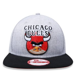 Boné New Era 9Fifty NBA Chicago Bulls Series Angry Birds Original Fit Snapback
