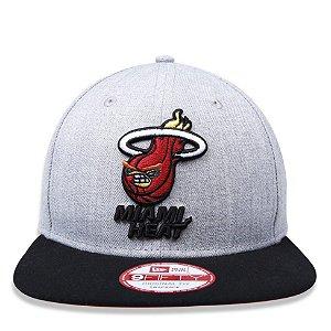 Boné New Era 9Fifty NBA Miami Heat Angry Birds Original Fit Snapback