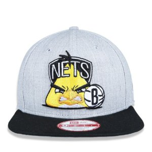 Boné New Era 9Fifty NBA Brooklyn Nets Angry Birds Original Fit Snapback