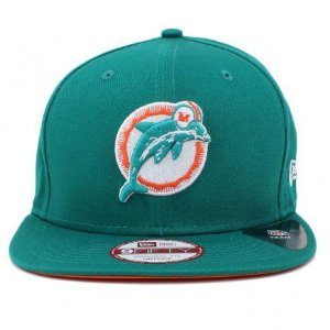 Boné New Era 9Fifty Miami Dolphins Original Fit Snapback