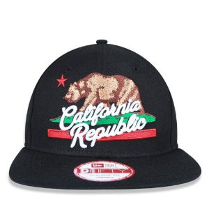 Boné New Era 9Fifty California Republic Original Fit Snapback