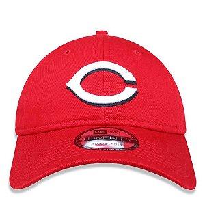 Boné New Era 920 MLB Cincinnati Reds Strapback Aba Curva