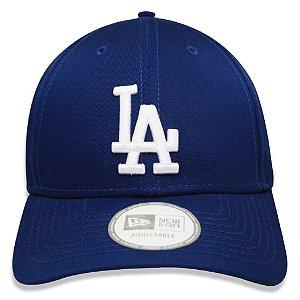 Boné New Era 9Forty MLB Los Angeles Dodgers Azul Ajustável