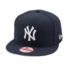 Boné New Era 9Fifty New York Yankees Block Back Original Fit Snapback