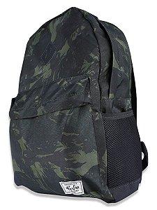 Mochila Escolar New Era Militar Camuflada Fullprint 18l