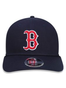 Boné New Era 39Thirty MLB Boston Red Sox Team Color Marinho
