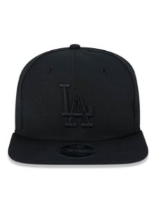 Boné New Era 9Fifty Los Angeles Dodgers Blackout OF Snapback