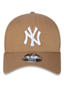 Boné New Era 39Thirty MLB NY Yankees Kaki Flexhat S/M Curvo