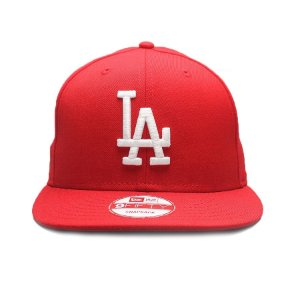 Boné New Era 9Fifty Los Angeles Dodgers Vermelho Snapback