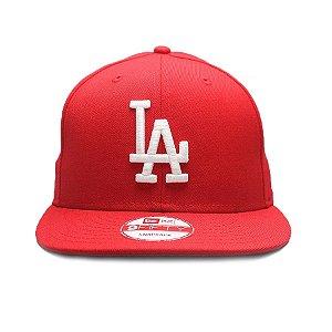 Boné New Era 9Fifty Los Angeles Dodgers Vermelho Snapback