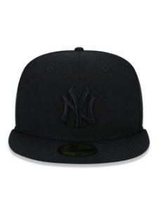 Boné New Era 59Fifty NY Yankees Black 100 Anos - Size 8