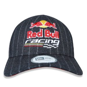 Boné New Era 9Forty Red Bull Racing Strip Chumbo Snapback