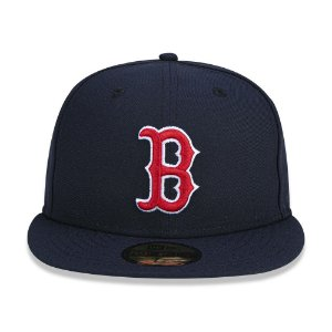 Boné New Era 59Fifty Boston Red Sox Team Color Fitted