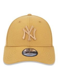 Boné New Era 9Fifty Youth MLB NY Yankees Kaki Ajustável