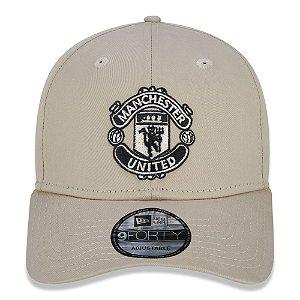 Boné New Era 9Forty Manchester United Tonal Logo Strapback