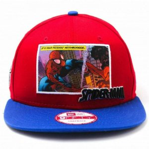 Boné New Era 9Fifty Spider Man Comic Panel Snapback