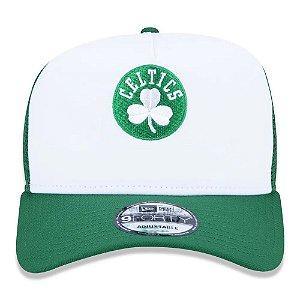 Boné New Era 9Forty NBA Boston Celtics Trucker Snapback