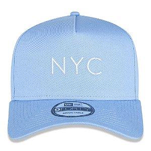 Boné New Era 9Forty A-Frame NYC Core Candys Azul Snapback