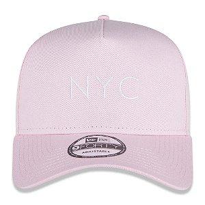 Boné New Era 9Forty A-Frame NYC Core Candys Pink Snapback