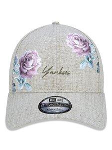 Boné New Era 9Twenty NY Yankees Botany Embroidery Strapback