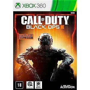 Jogo Call of Duty : Black Ops III - Xbox 360