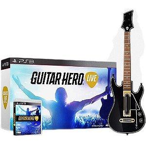 Jogo Guitar Hero: Live (Guitar Bundle) - PlayStation 3 - PS3