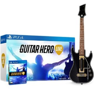 Jogo Guitar Hero: Live (Guitar Bundle) - PlayStation 4 - PS4