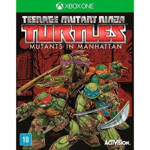 Jogo Teenage Mutant Ninja Turtles: Mutants in Manhattan - Xbox One