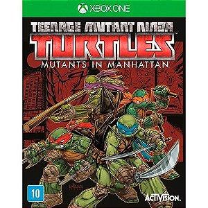 Jogo Teenage Mutant Ninja Turtles: Mutants in Manhattan - Xbox One