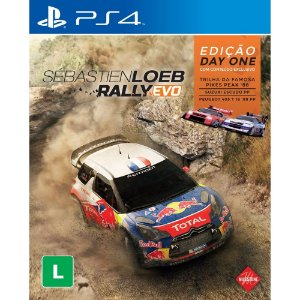 Jogo Sébastien Loeb Rally Evo - PS4 - PlayStation 4