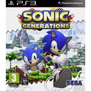 Jogo Sonic Generations - Ps3 - PlayStation 3
