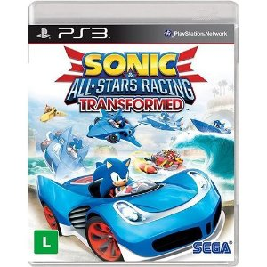 Jogo Sonic & All-Stars Racing Transformed - PS3 - PlayStation 3