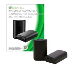 Kit Microsoft com 2 Baterias Recarregáveis Xbox 360