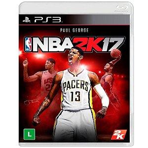 Jogo NBA 2K17 - PS3 - Playstation 3