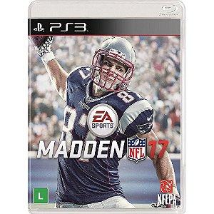 Jogo Madden NFL 17 - PS3 - PlayStation 3