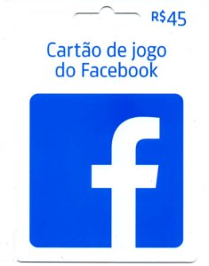 Cartão Presente Facebook Jogos Crédito de 45 Reais - Envio Digital