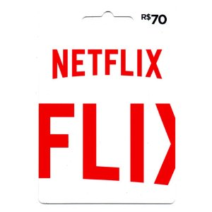 Cartão Presente NetFlix 70 Reais - Envio digital