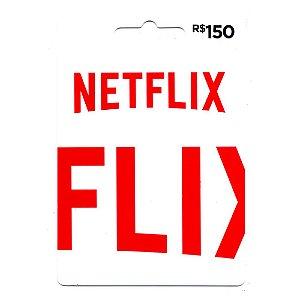Cartão Presente NetFlix 150 Reais - Envio digital