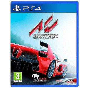 Jogo Assetto Corsa Playstation 4