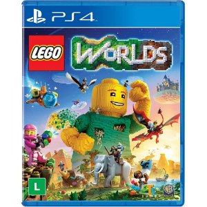 Jogo Lego Worlds - PlayStation 4 - PS4