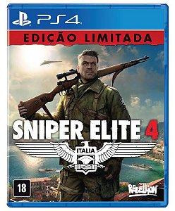 Jogo Sniper Elite 4 Playstation 4