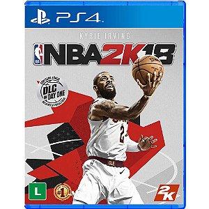 Jogo NBA 2K18 - Playstation 4