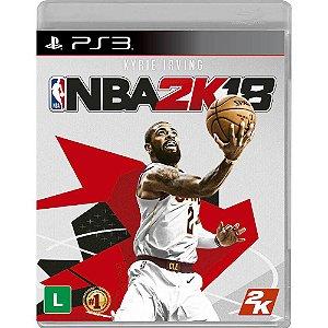 Jogo NBA 2K18 - Playstation 3
