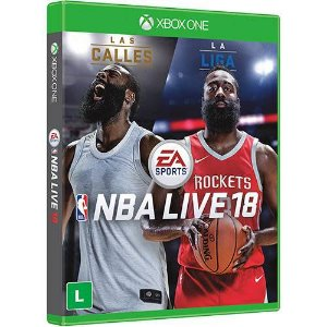 Jogo NBA live 18 - Xbox One