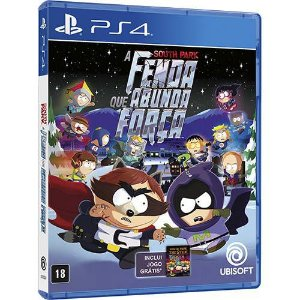 Jogo A South Park : A Fenda Que Abunda Força - Playstation 4 - PS4
