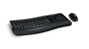 Kit Teclado e Mouse Microsoft Wireless Comfort Desktop 5050