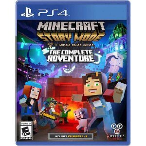 Jogo Minecraft - Story Mode - The Complete Adventure - Ps4