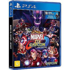 Jogo Marvel Vs Capcom Infinite - Edição Limitada - PS4
