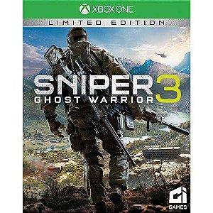 Jogo Sniper Ghost Warrior 3 - Edição Limitada - Xbox One