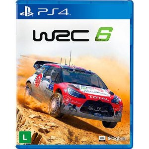 Jogo Wrc 6 - Fia World Rally Championship- PS4